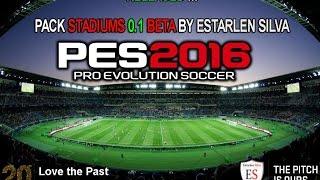 Importar Estadios / PES2016 / Tutorial