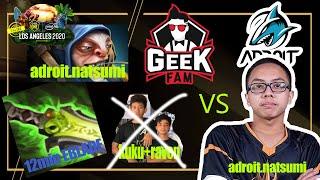 GeekFam vs Adroit GAME 1 Highlights   ESL One Los Angeles Online   Dota 2   SEA