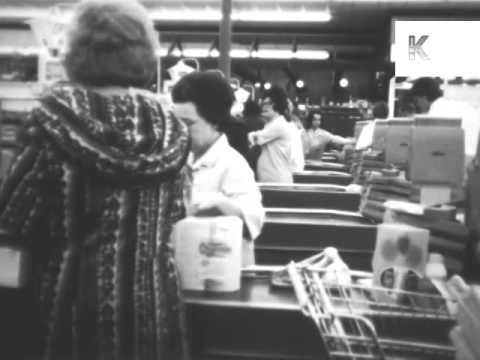 1960s America, Supermarket Shopping