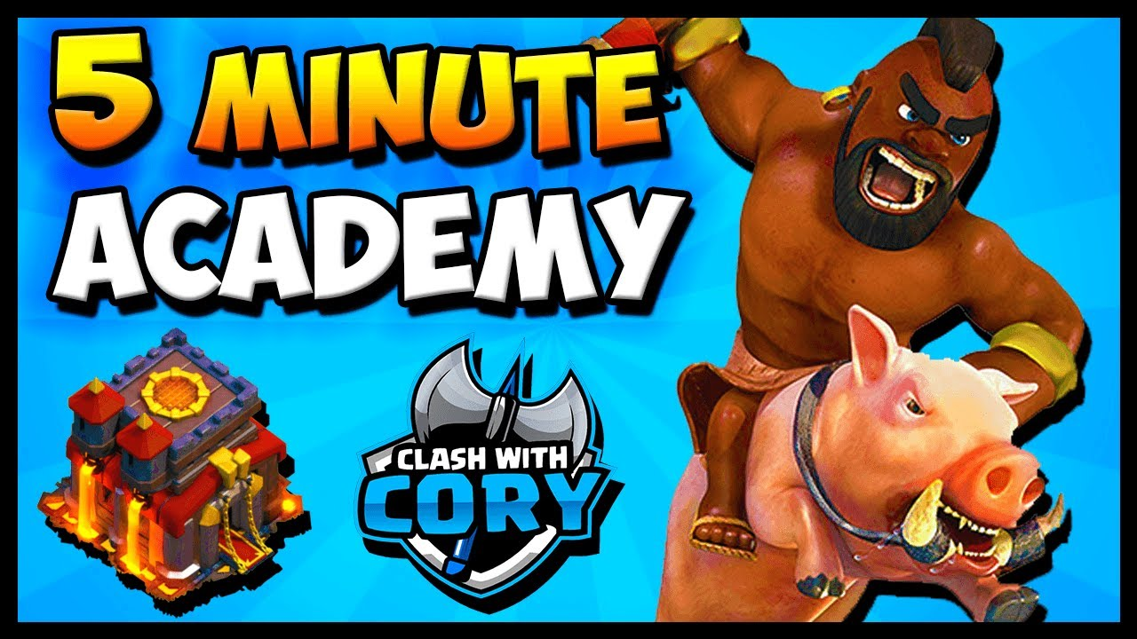 LEARN TH10 HOG ATTACK IN 5 MINUTES! Town Hall 10 Attack ...