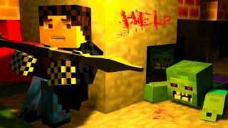 видео: МЕНЯ УКУСИЛ ЗОМБИ! Я ПРЕВРАЩАЮСЬ В ЗОМБИ! ЗОМБИ АПОКАЛИПСИС В МАЙНКРАФТ! - (Minecraft - Сериал)