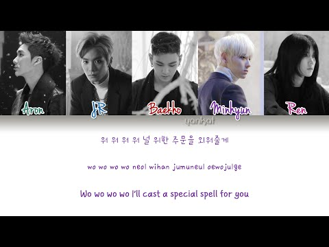 NU'EST - Overcome (여왕의 기사) (Color Coded Han Rom Eng Lyrics)   by Yankat