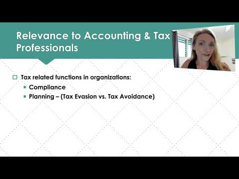 Ch#1 Lecture (Federal Taxation: Comprehensive): Intro to Individual Income Tax