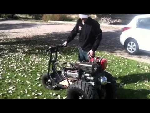 Diesel Tote Gote Mini Bike Trike Youtube