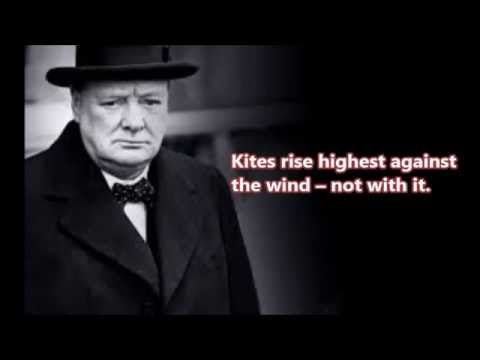 Motivational Quotes   Winston Churchill   YouTube