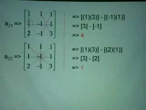 solving equations using inverse 3x3 matrix part 2 youtube. Black Bedroom Furniture Sets. Home Design Ideas