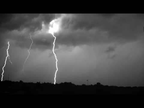 Lightning Storm Recorded at 7000 Frames Per Second