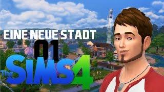 Sims 4 #01 - Eine neue Stadt | Let's Play Die Sims 4 German Gameplay Deutsch PC