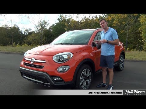 Review: 2017 Fiat 500X Trekking