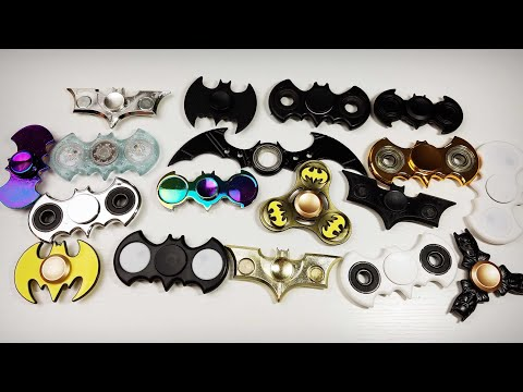BIGGEST Batman Fidget Spinner Collection- Which is your Favorite?