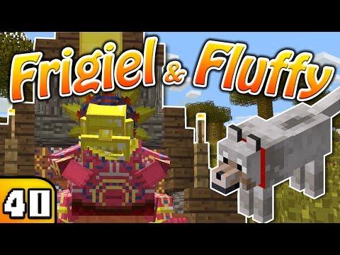 FRIGIEL & FLUFFY : LE DIEU SOLEIL | Minecraft - S4 Ep.40