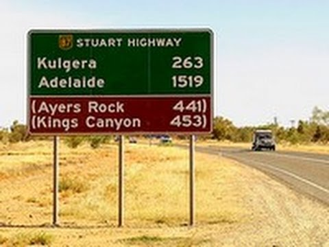 Stuart Highway, Northern Territory, Australia
