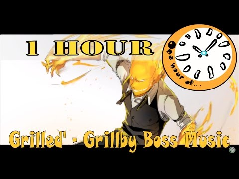 Grilled' - Grillby Boss Music - Fan-made Undertale Theme 1 hour | One Hour of...