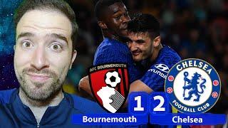 BOURNEMOUTH CURSE BROKEN! Broja & Ugbo Seal Chelsea Win! | Bournemouth 1-2 Chelsea