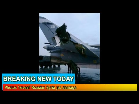 Breaking News - Photos 'reveal' Russian Syria jet damage