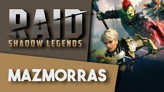RAID: SHADOW LEGENDS | ¿Cómo son las MAZMORRAS?