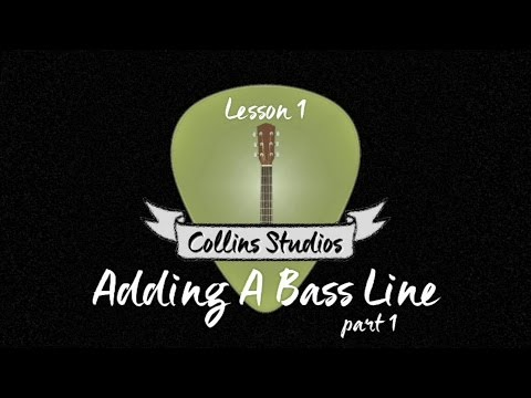 Make Your Acoustic Rhythm Playing Interesting! Part 1 - Add A Bassline