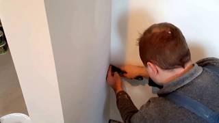 Якісна фарбування стін. Нюанси при фарбуванні стін. Фарбування стін із компресор вул. Одоєвського 115а