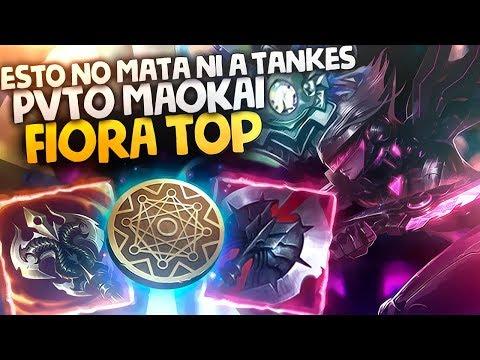 FIORA TOP | ¿PORQUÉ NO ESTÁ EN EL META? FT. PVTO MAOKAI | Diamante IV (Temporada 8)