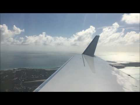 Gulfstream IV-SP Wing View Landing Caribbean Island of Anguilla AXA