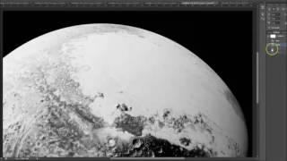 Manipulation des images de la NASA (Pluton et al)