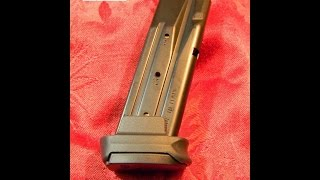 P250 Sig Sauer X-Grip Extended Magazine for 9mm Sub Compact