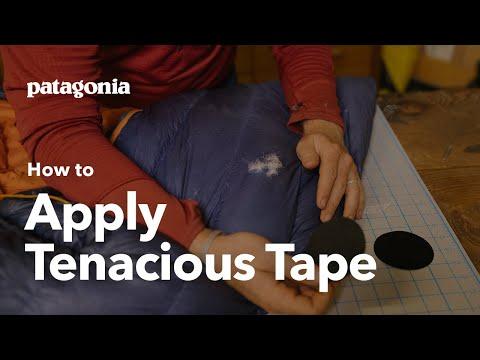 How to Apply Tenacious Tape