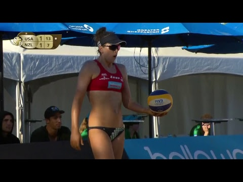 Shepparton 1-Star 2018 - Women semi final 1 - Beach Volleyball World Tour