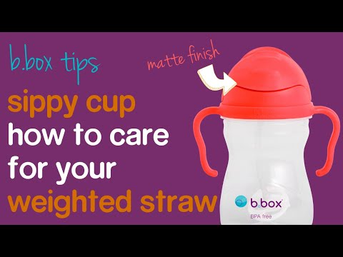 b.box tips - how to care for weighted straw