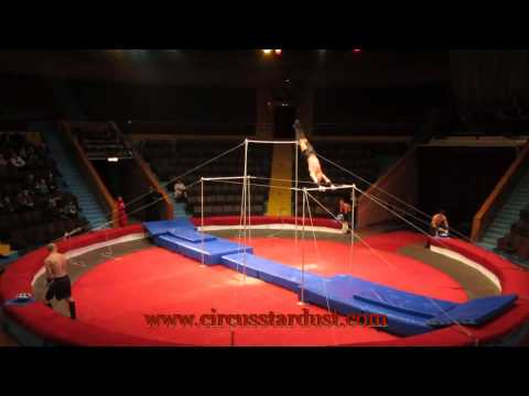 Circus Stardust Entertainment Agency Presents: High Bars Circus Act (Artist 00522)