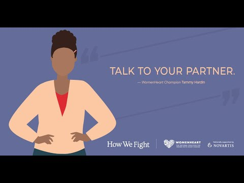 Will my heart failure impact intimacy with my partner? – Tammy #HowWeFight
