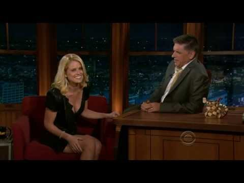 Alice Eve on Craig Ferguson 2011