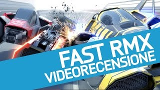 fast rmx recensione del nuovo racing game futuristico per nintendo switch