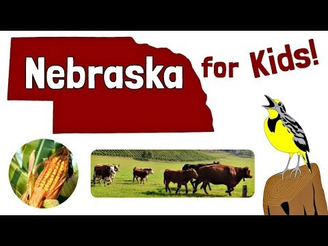 Nebraska for Kids | US States Learning Video