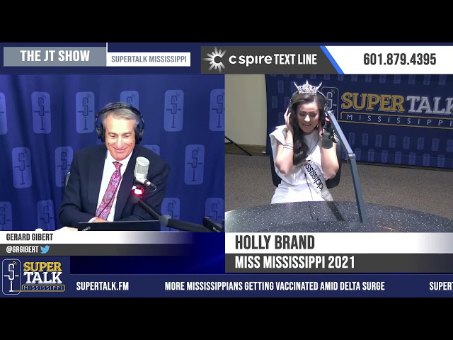 Miss Mississippi 2021 on The JT Show