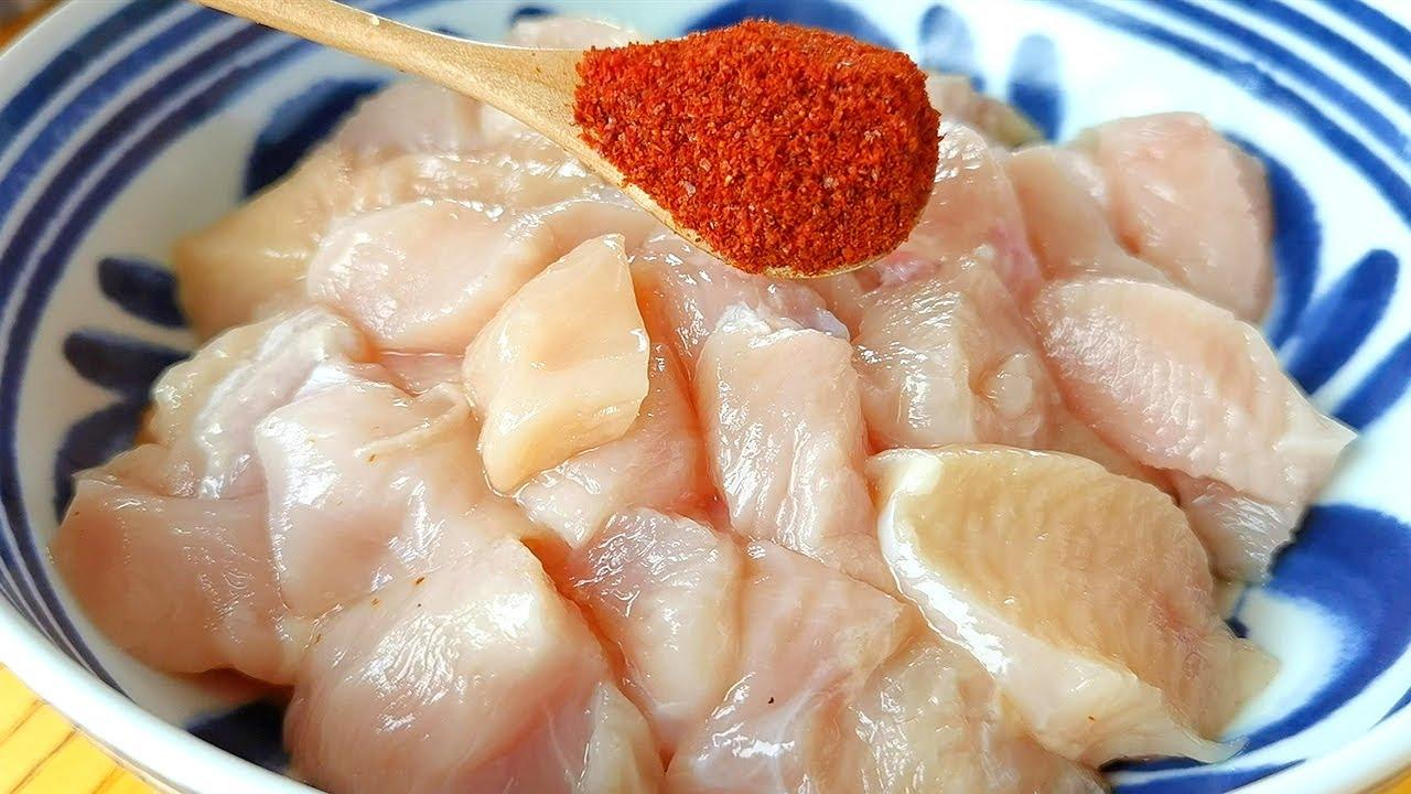 【小穎美食】雞米花到底要不要用麵包糠?教你這樣做,外酥里嫩,比買的還好吃