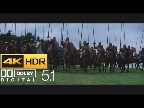 Braveheart - Battle of Stirling Cavalry Charge (HDR - 4K - 5.1)