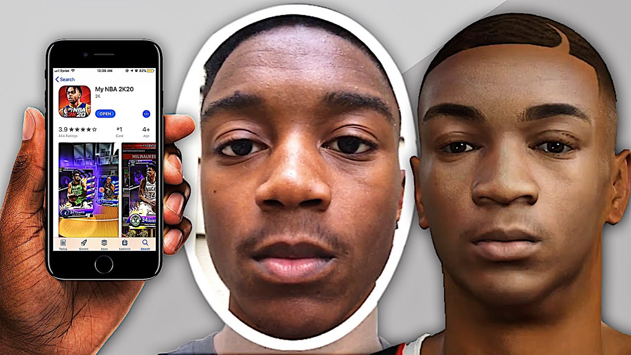 HOW TO GET THE BEST FACE SCAN IN NBA 2K20