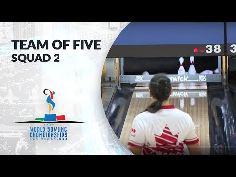 Team of Five Squad 2 - World Bowling Championships 2017