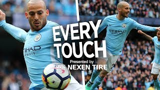 David Silva, Every Touch |  Man City 5-0 Swansea