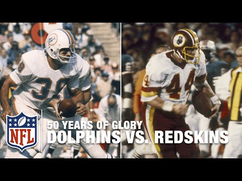 Redskins vs. Dolphins | Super Bowl VII & XVII Highlights | 50 Years Of Glory | NFL
