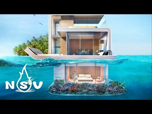 Chiêm ngưỡng biệt thự xa hoa hơn 70 tỷ có phòng ngủ dưới mặt biển ở Dubai