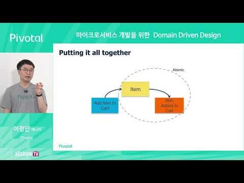 마이크로서비스 개발을 위한 Domain Driven Design