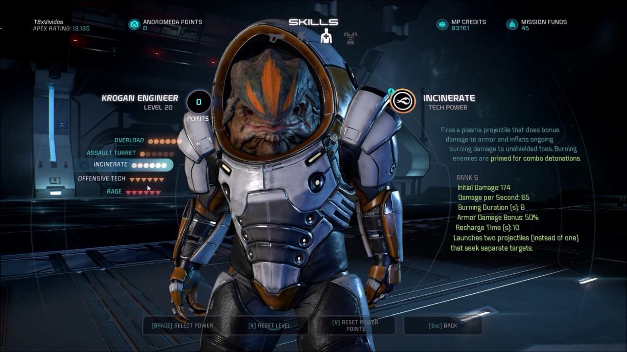Mass Effect Andromeda Engineer Build Multiplayer