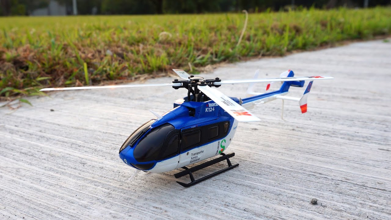 Xk K124 Brushless Ec145 Scale Helicopter 6g 3d Modes Test Flight Blade 450 Rc Parts Diagram Free Engine Image For With Comments Youtube