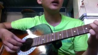 Yêu là phải thương - guitar cover Quang Bão