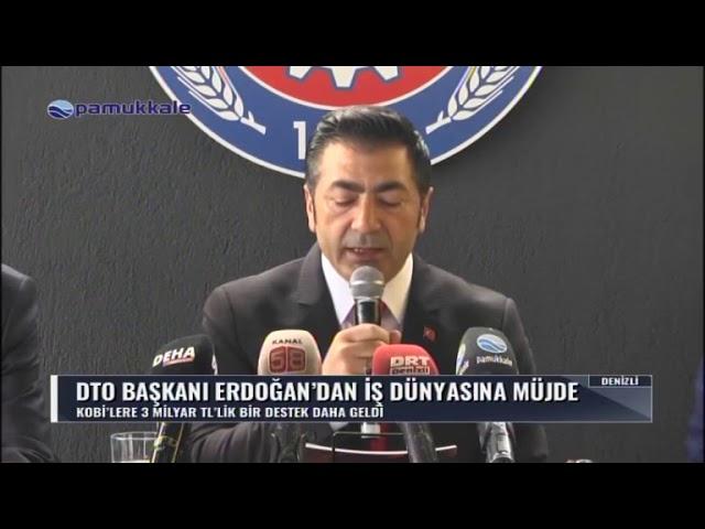 Pamukkale Tv-KOBİ'lere müjde 13.04.2019