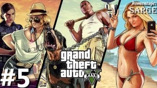 Zagrajmy w GTA 5 (Grand Theft Auto V) odc. 5 - Zemsta Michaela