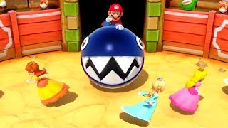 Super Mario Party - All 3 Vs 1 Minigames (Mario Vs Peach, Daisy & Rosalina)
