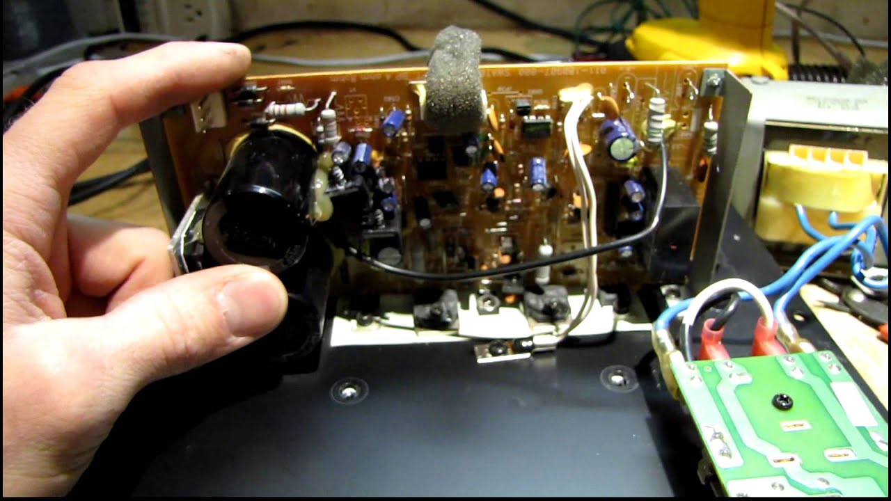 Velodyne Cht 8 Subwoofer Repair 4 10 14 Youtube